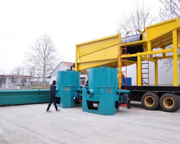 移动选矿机,移动式选矿设备
