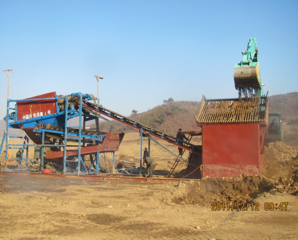 沙金矿选金设备,沙金开采生产线